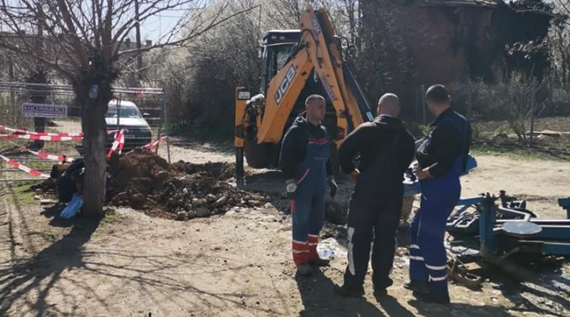 Започна подмяна на водопровода в село Соколаре